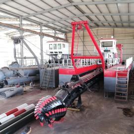金盟 非洲绞吸式抽沙船河道抽沙效率 非洲沙船厂商 12寸