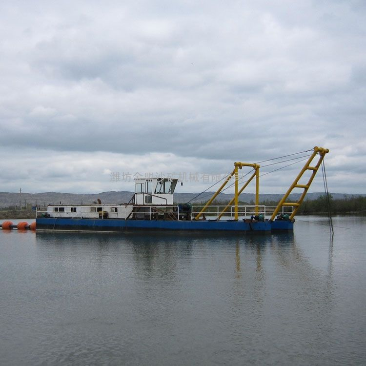 金盟 双排吸沙船较大型抽沙船实际更合算 12寸