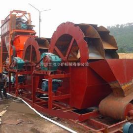 金盟 河沙洗沙设备 两槽洗沙机工厂出厂价 50t