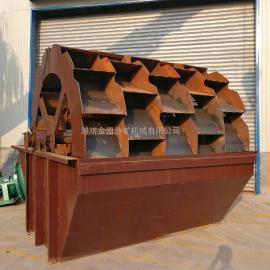 金盟 五槽洗沙机工厂售价 大型洗沙设备工作原理 50t