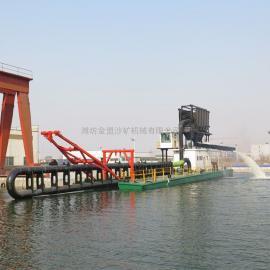 金盟 国内能够生产虹吸式抽沙船的工厂 12