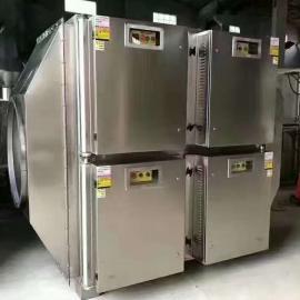 首阳环保 橡胶厂2万风量UV光氧等离子一体机处理技术及视频展示 齐全