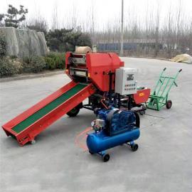 圣泰饲料青储的制作步骤 打捆包膜机型号YK5552