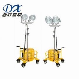 鼎轩照明 便携式升降工作灯2*150W金卤投光灯 SWF6000K