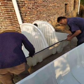 15立方化粪池家用玻璃钢沉淀池泽润