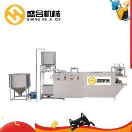 全自动豆腐皮机 盛隆牌大型商用千张机械