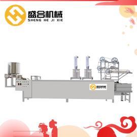 全套全自动商用豆腐皮机 优惠豆制品设备