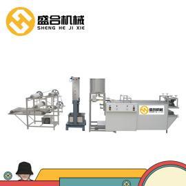 全自动豆腐皮机商用 大型干豆腐机器