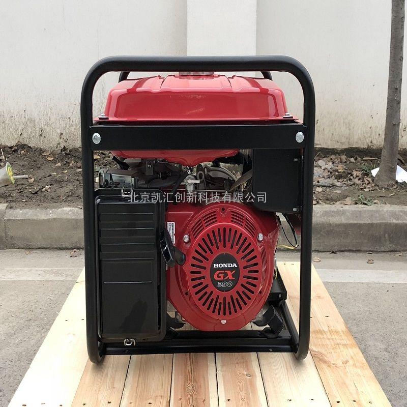 凯汇成 6kw gx390动力 三相 手动 车载汽油发电机 EC7000-3