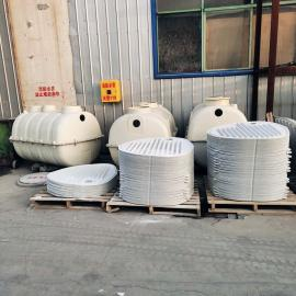 泽润新型达标玻璃钢沉淀池20立方化粪池