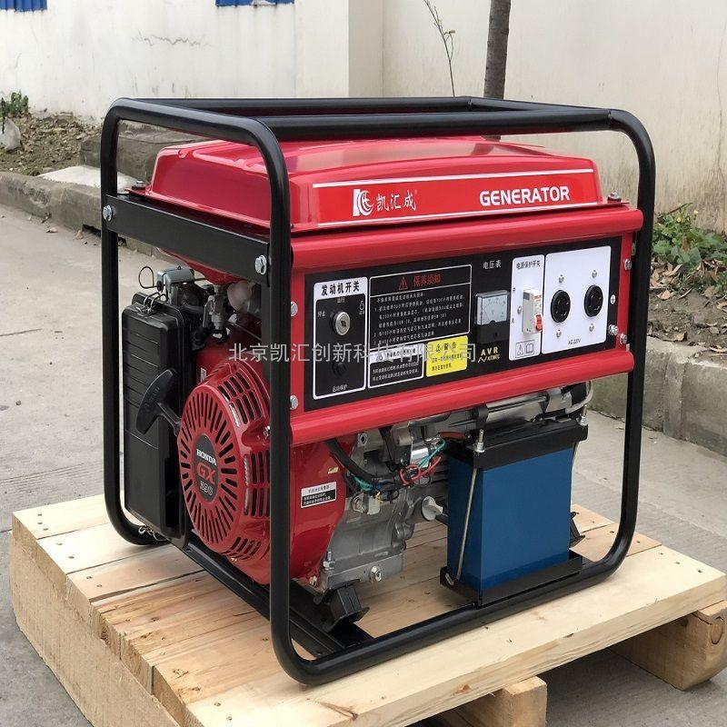 凯汇成 6kw gx390动力 单叁相一体 手电一体 车载汽油发电机 EC8000E-3