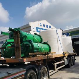 DN800 钢衬塑离子交换柱 水处理 树脂柱交换设备 订制环保离子柱 久佳防腐