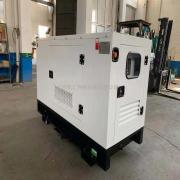 凯汇成 15KW 潍柴动力 静音型柴油发电机 全铜无刷带保护 底座油箱 HY-15GFS