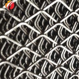钢板冲孔网 菱形建筑网 不锈钢板网 金属筛网材质可选群恒
