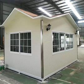 绿华 不锈钢岗亭-钢结构值班亭-铝塑板门卫室