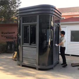 绿华 保安岗亭-成品值班门卫室-户外值班收费岗亭公司 LH-GT