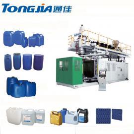 通佳 吹塑机 消毒剂瓶 酒精桶生产设备 TJ-HB5L