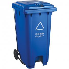 ����生活垃圾桶高�]120升塑料垃圾桶