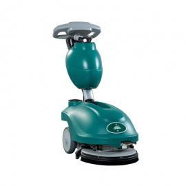 洁驰小型手推式洗地机 办公室用洗地机 迷你擦地机 拖地车BA350BT