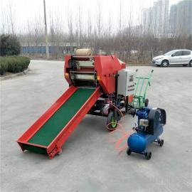 圣泰青储养羊打包机 玉米杆打捆裹包一体机 机器图片YK5552