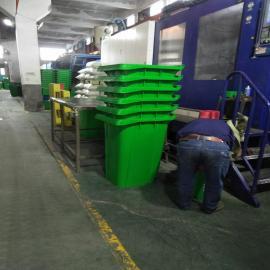 易顺垃圾桶 分类塑料垃圾桶、钢木垃圾桶定做