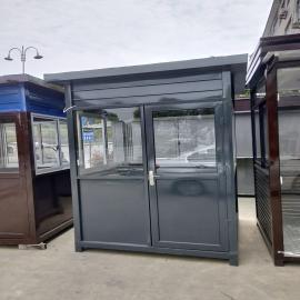 -不锈钢-金属雕花板岗亭生产、垃圾分类亭