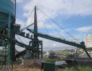 科德KDL码头固定式水泥粉煤灰矿粉螺旋卸船机KDL100