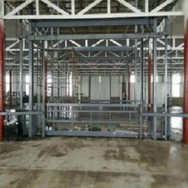 佰旺牌 YYHT 液压货梯厂定制载货用简易液压升降货梯
