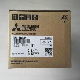 三菱FX5U系列PLC主�C80�c晶�w管FX5U-80MT/ES