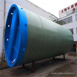 720立方一�w化泵站 埋地式一�w化提升泵站 一�w式�A制泵站