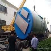 3.5x6.5m一体化泵站园林取水一体式泵井振飞一体化灌溉提升井