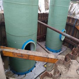 580M3/d一体化泵站 污水提升一体式泵井 一体式预制泵站