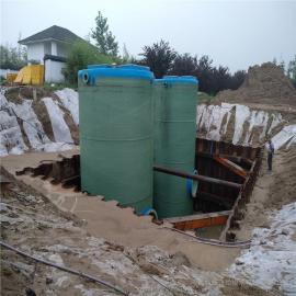 污水提升泵站 �A制式一�w化泵站 地埋一�w式提升井