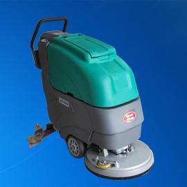 德克威诺 工厂车间地下车库商务楼物业保洁用移动式电瓶洗地机 LC19A