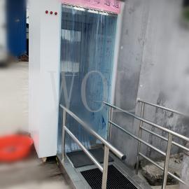 WOL 人�T密集�鏊� 快速消毒通道定制 WOL-XD500