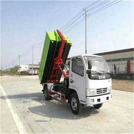 小型垃圾车 5吨方拉臂自卸车、东风勾臂式专用车