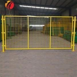 工厂车间仓库隔离围网护栏网设备隔离安全防护栅栏网 高度可选 群恒
