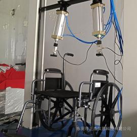 正杰 残疾人电动轮椅车双辊疲劳测试机 老人车动态路况试验机