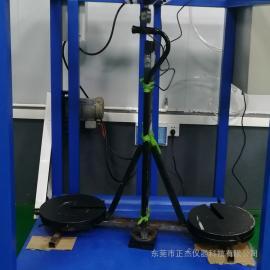 正杰 拐杖助行器疲劳测试机 腋杖静载强度试验机
