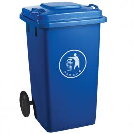 仪征生活垃圾桶120升塑料垃圾桶