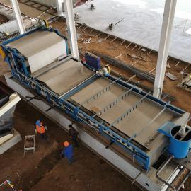 LD隆鼎 矿用河卵石尾矿干排带式压滤机设备 DY