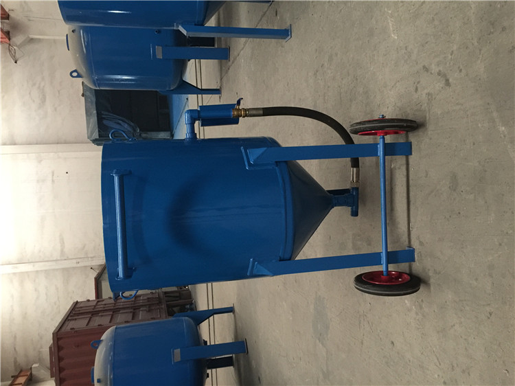 移动式喷砂机用途