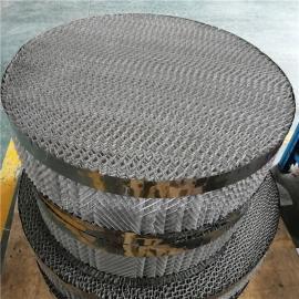 科隆填料 今天车间生产CY700型防壁流丝网波纹填料效果佳