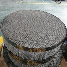 科隆牌 BX500丝网波纹填料外圈加不锈钢片防壁流