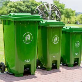 生活垃圾桶120升塑料垃圾桶