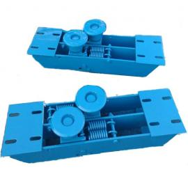 无极绳绞车配件LYS600主压 副压绳轮组LPT600B托绳轮组尾轮绳衬
