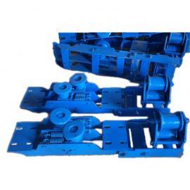 绞车托绳轮SQ120B-01张紧装置 五轮重锤涨紧装置 铸钢压绳轮组