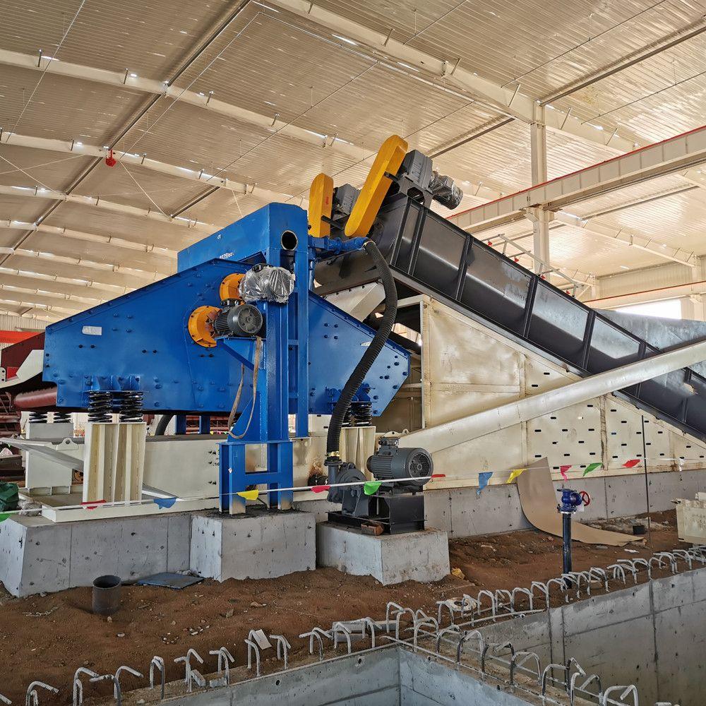 移动车载矿用洗砂回收设备隆鼎环保科技LX