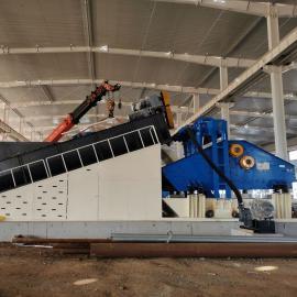 锌铁矿螺旋洗砂回收机商家LX隆鼎环保科技
