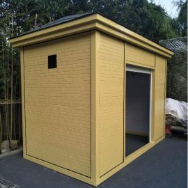 绿华lvhua垃圾收集房-新规定时定点垃圾分类房-街道社区垃圾分类活动房LH-GT